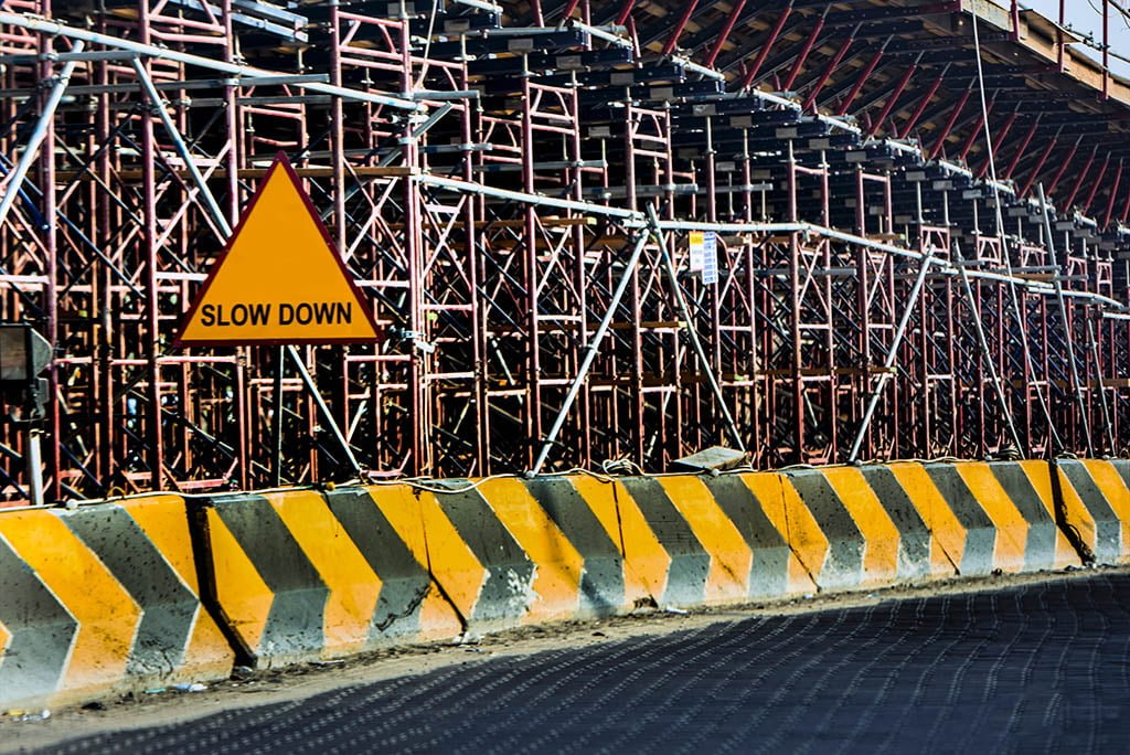 Barriers and scaffolding